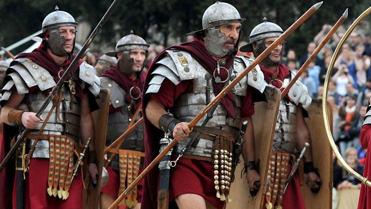 Roman army BBC Bitesize What was life like in the Roman army