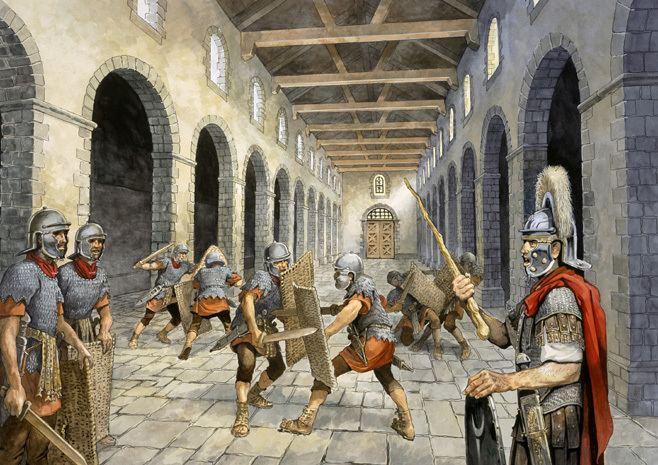 Roman army BBC Primary History Romans The Roman army