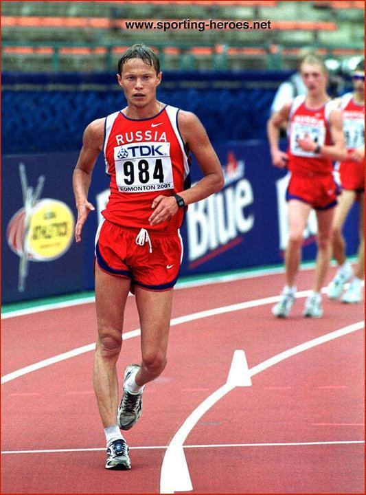 Roman Rasskazov Roman RASSKAZOV 2001 World Championship 20km Walk Champion Russia