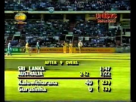 Romesh Kaluwitharana 74 vs Australia MCG 199596 YouTube