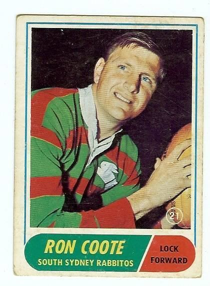 Ron Coote Ron Coote on Men Of League 2ST