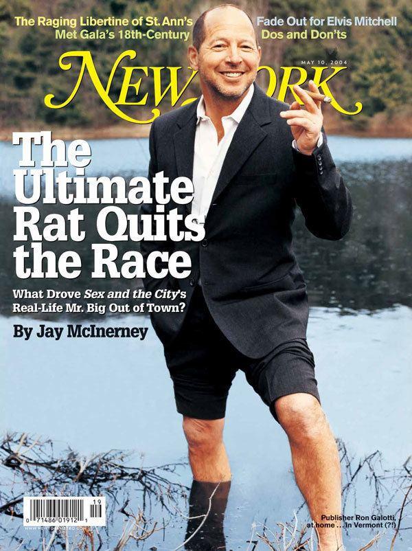Ron Galotti RON GALOTTI RATS OUT THE MAGAZINE BUSINESS Media