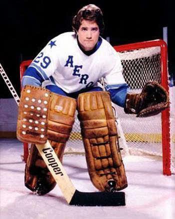 Ron Grahame Third String Goalie 197677 Houston Aeros Ron Grahame jersey