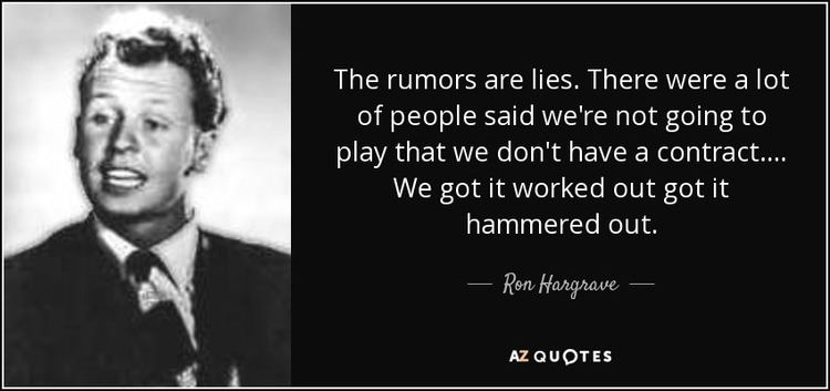 Ron Hargrave QUOTES BY RON HARGRAVE AZ Quotes
