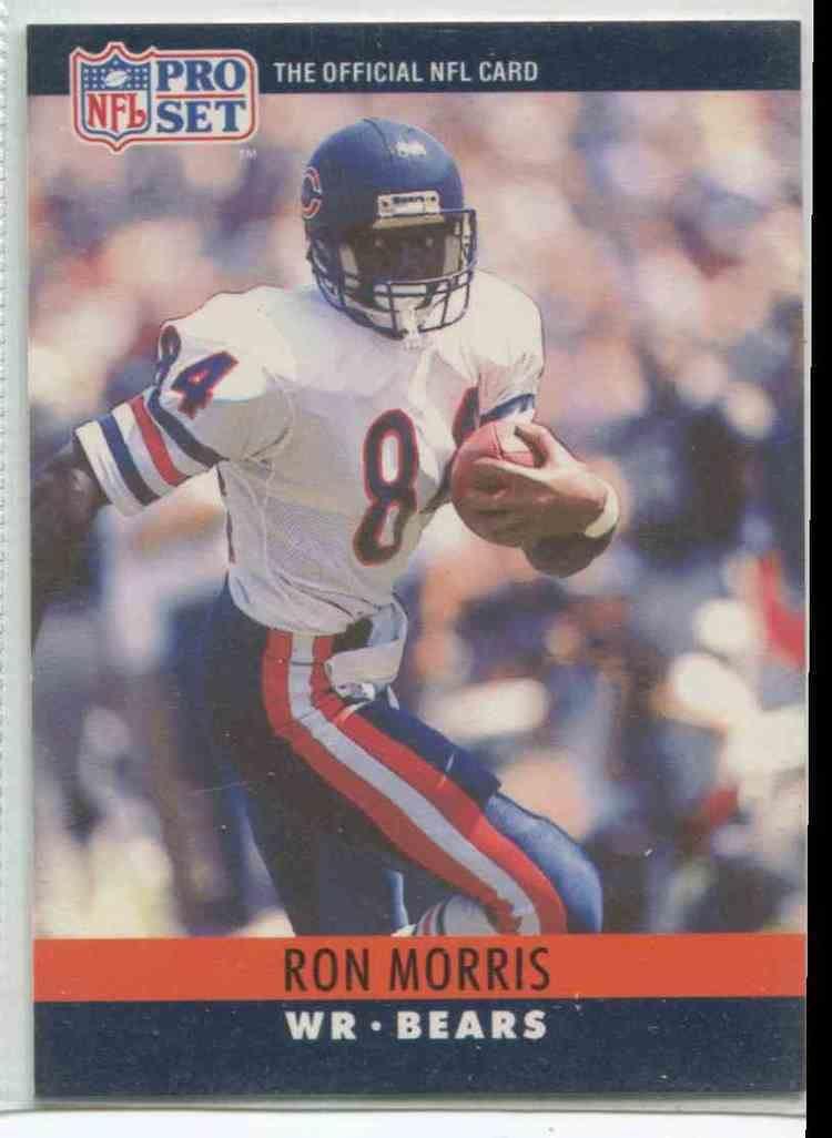 Ron Morris (Canadian football) 1990 Pro Set Ron Morris 55 on Kronozio