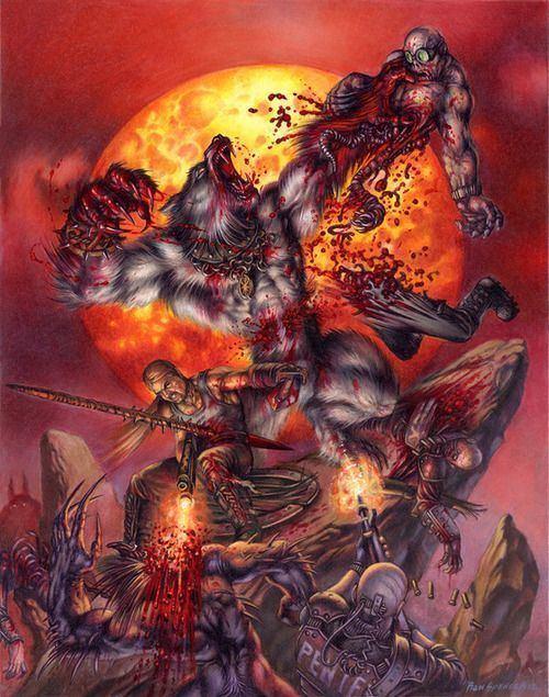 Ron Spencer 31 best Werwolf Fantasy images on Pinterest Fantasy creatures