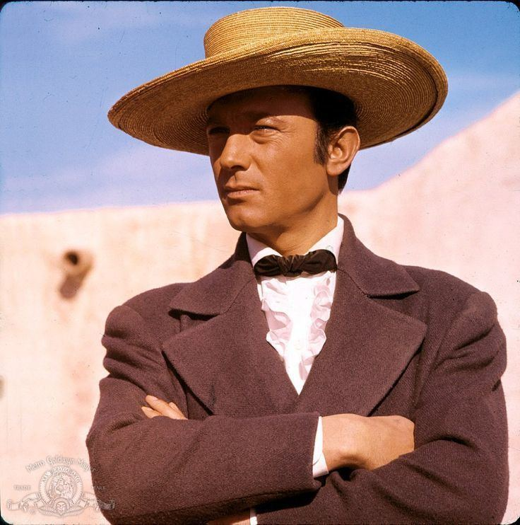 Ron Talsky Laurence Harvey The Alamo 1960 Costume designer Ron Talsky