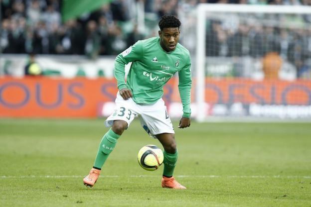 Ronaël Pierre-Gabriel Foot Ligue 1 ASSE Sainttienne Ronal PierreGabriel passe pro