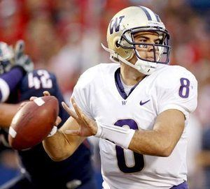 Ronnie Fouch UW Football Tough beginning for Ronnie Fouch The Seattle Times