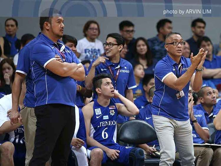 Ronnie Magsanoc Magsanoc on Ateneos head coach Coach Bo is still in charge ABS