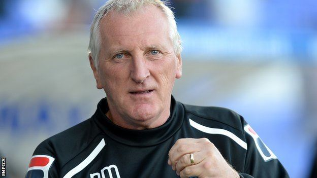 Ronnie Moore BBC Sport Tranmere Rovers Ronnie Moore says players up