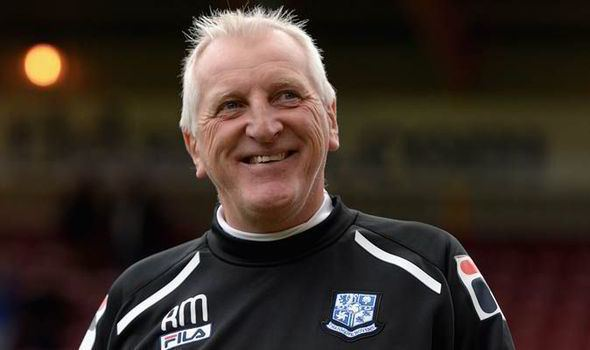 Ronnie Moore Tranmere boss Ronnie Moore suspended Football Sport