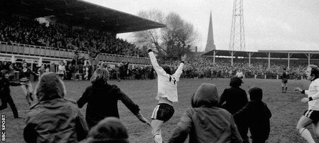 Ronnie Radford BBC Sport Ronnie Radford The FA Cup goal that made time