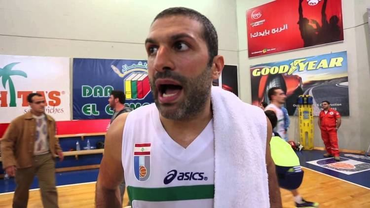 Rony Fahed Rony Fahed post game interview Moutahed Amchit 1622014 YouTube