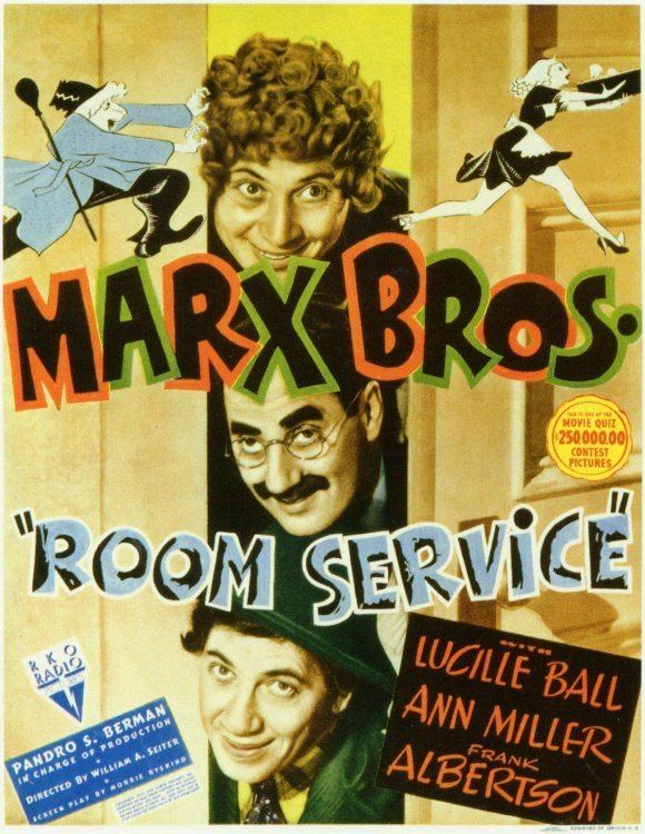 Room Service (1938 film) The Marx Brothers Retro Pop Planet