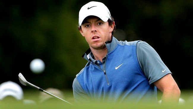 Rory McIlroy Adam Scott Rory McIlroy drawn on super Saturday The