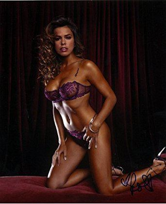 Rosa Blasi ROSA BLASI 8x10 Model Photo Signed InPerson at Amazon39s