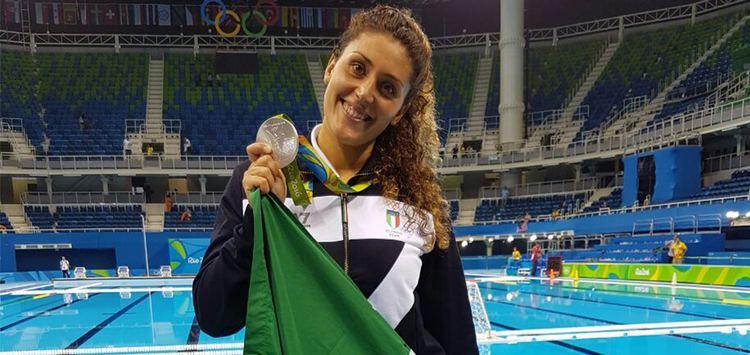 Rosaria Aiello Salire sul podio Troppo figo Rosaria Aiellocatanese argento a