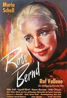 Rose Bernd (1957 film) httpsuploadwikimediaorgwikipediaenthumb2