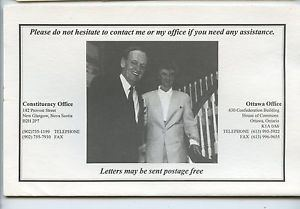 Roseanne Skoke 1995 Canada Political Liberal Calendar Roseanne Skoke Jean