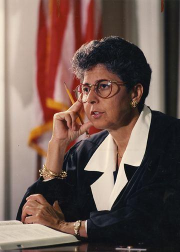 Rosemary Barkett New IranUS Claims Tribunal Judge Rosemary Barkett IntLawGrrls