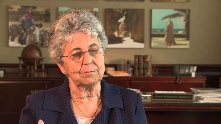 Rosemary Barkett Judge Rosemary Barkett Florida Supreme Court Historical Society