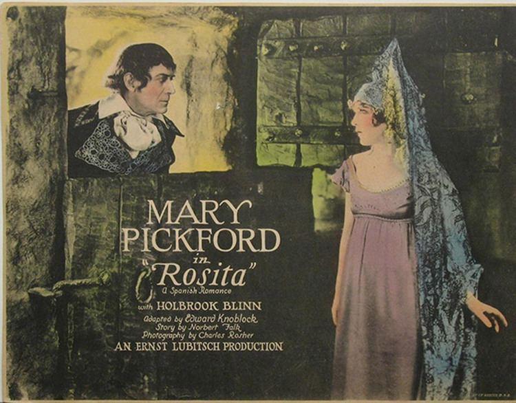 Rosita (film) Rosita Mary Pickford Foundation