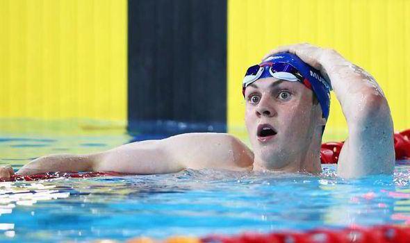Ross Murdoch Ross Murdoch storms to swimming gold as Scotland hails a