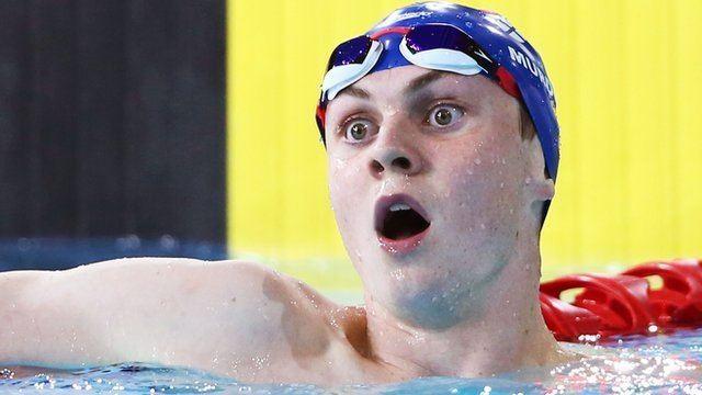 Ross Murdoch Glasgow 2014 Ross Murdoch wins 200m breaststroke BBC Sport