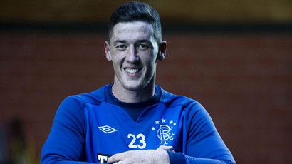 Ross Perry Rangers39 Ross Perry insists away form isn39t playing on his