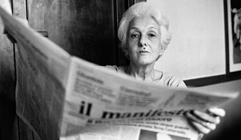 Rossana Rossanda Rossanda dice addio al Manifesto micromegaonline