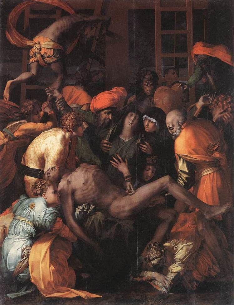 Rosso Fiorentino Deposition from the Cross by ROSSO FIORENTINO