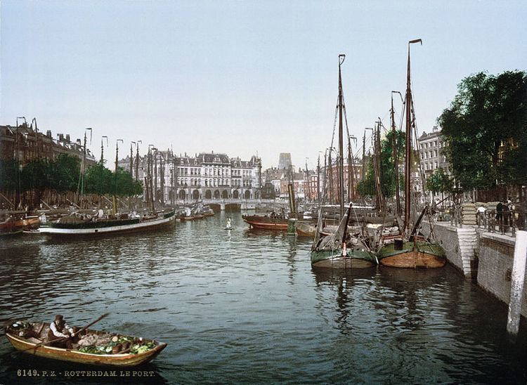 Rotterdam in the past, History of Rotterdam
