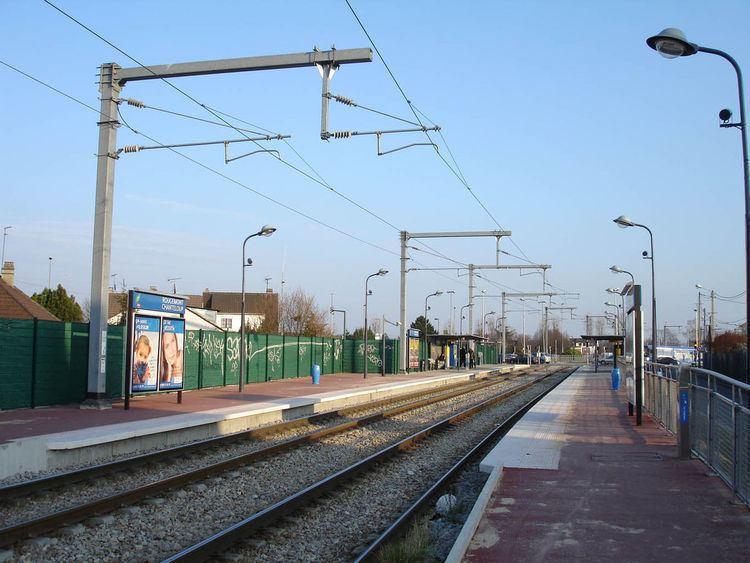 Rougemont – Chanteloup railway station