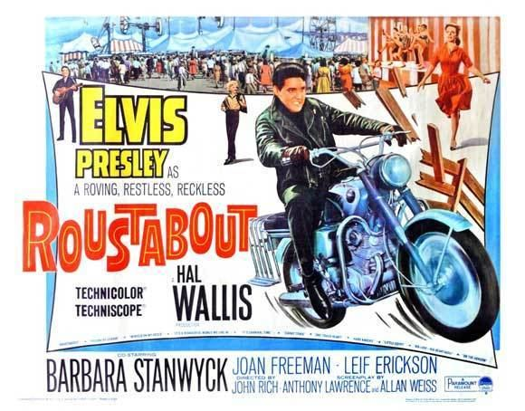 Roustabout (film) Roustabout Movie poster Fantastic Film and TV Stuff Pinterest