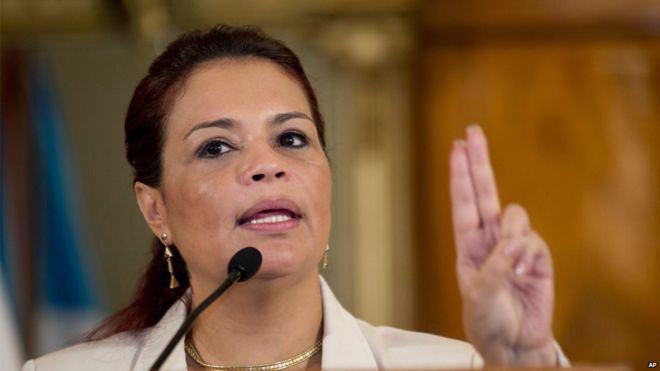 Roxana Baldetti Guatemala exVicePresident Baldetti held on fraud