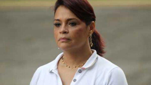 Roxana Baldetti Prez Molina presenta solicitud de amparo ante la Corte