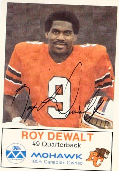 Roy Dewalt wwwcflapediacomPlayersddewaltroyjpg