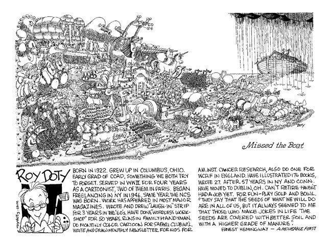 Roy Doty National Cartoonists Society