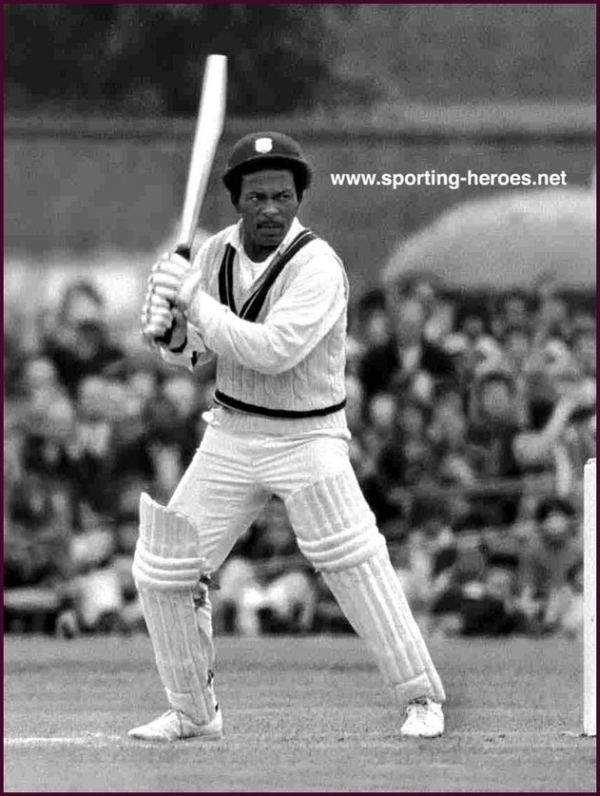 Roy Fredericks (Cricketer) in the past