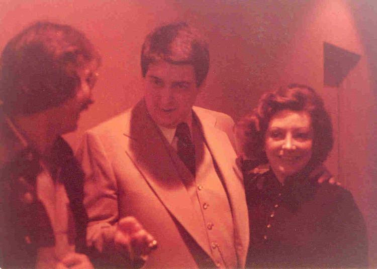 Greg Zack with Roy Radin and Loretta Radin