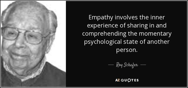 Roy Schafer QUOTES BY ROY SCHAFER AZ Quotes