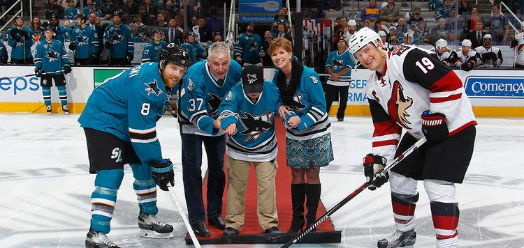 Roy Sommer Roy Sommer Honored Before San Jose Sharks Game San Jose Barracuda