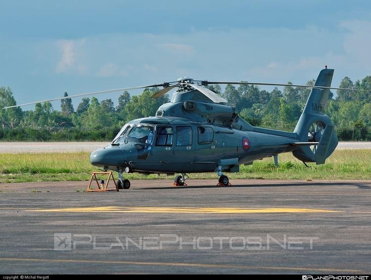 Royal Cambodian Air Force Harbin H425 MH902 operated by Kangtrop Akas Khemarak Phumin