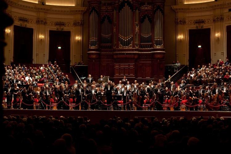 Royal Concertgebouw Orchestra Enescu festival ends with concert by Royal Concertgebouw Orchestra