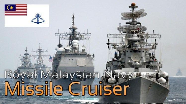Royal Malaysian Navy Royal Malaysian Navy Missile Cruiser YouTube
