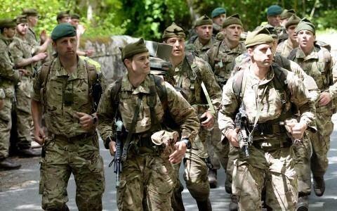 Royal Marines Royal Marine Reserve Volunteer as a Marine East Anglia RFCA