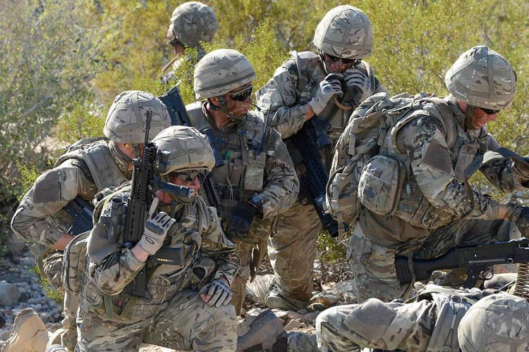 Royal Marines Royal Marines reservists on exercise in California GOVUK