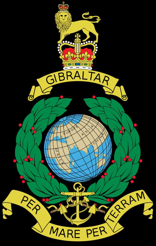 Royal Marines Corps Crest Globe and Laurel RM Poppy