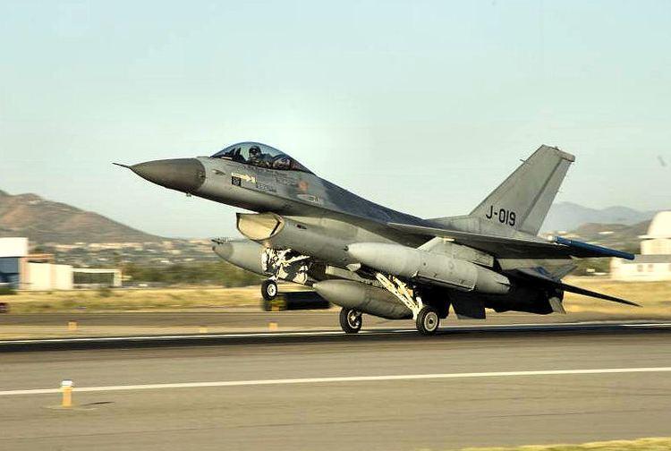 Royal Netherlands Air Force FileRoyal Netherlands Air Force F16AM Tuscon IAPjpg Wikimedia